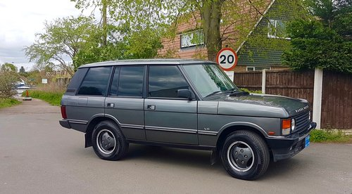 1991 Range Rover Classic  87k miles 3.9 Superb LHD For Sale (picture 1 of 6)