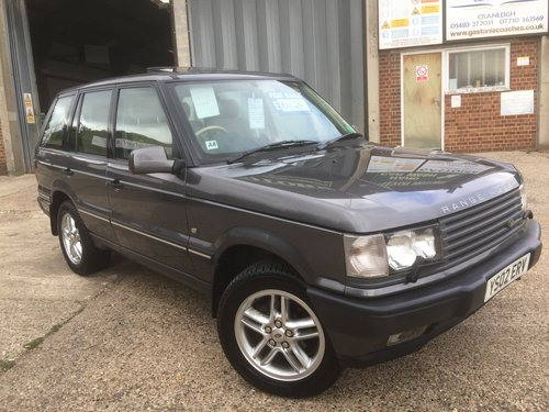 2002 range rover 4.6 vogue only 63000 miles 2 owners mint  For Sale (picture 1 of 6)