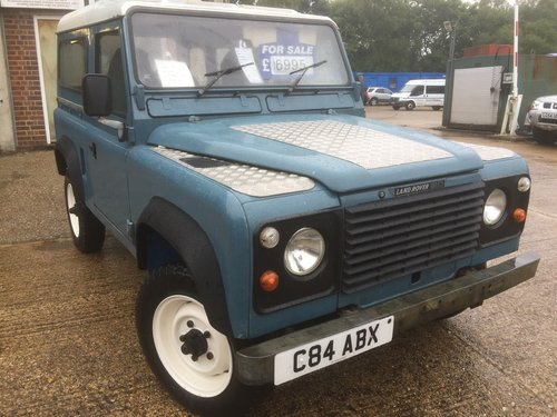 1985 land rover 90 fitted with a 200 tdi engine  For Sale (picture 1 of 6)