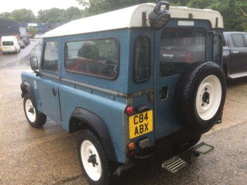 1985 land rover 90 fitted with a 200 tdi engine  For Sale (picture 4 of 6)