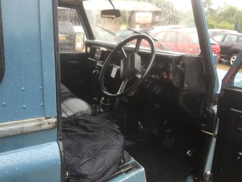 1985 land rover 90 fitted with a 200 tdi engine  For Sale (picture 5 of 6)