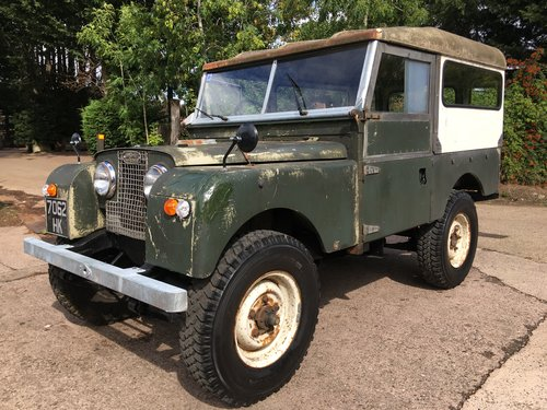 1958 Late Series 1, great patina, very solid, 3 owners For Sale (picture 1 of 6)