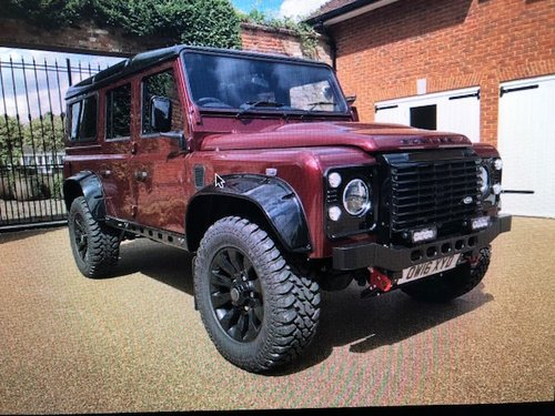 2016 Lander Rover Defender 110 .. Bowler-Griffin 180bhp SOLD (picture 1 of 5)