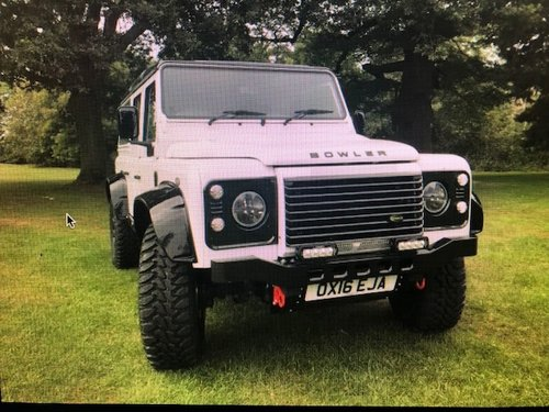 2016 Lander Rover Defender 110 .. Bowler-Griffin 180bhp SOLD (picture 2 of 5)
