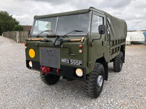 1976 Land Rover® 101 FC GS *Tax and MOT Exempt* (MRX) SOLD (picture 1 of 6)