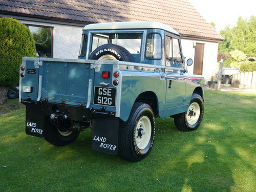 1969 Land Rover Series IIA SWB For Sale (picture 2 of 6)