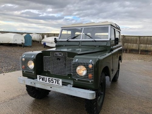 1967 Land Rover® Series 2a *Tax Exempt & MOT Exempt* (PWU) SOLD (picture 1 of 6)