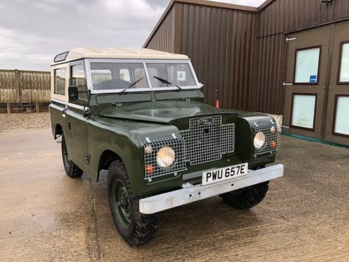 1967 Land Rover® Series 2a *Tax Exempt & MOT Exempt* (PWU) SOLD (picture 2 of 6)