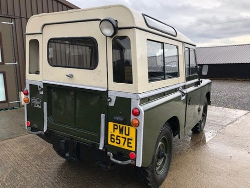 1967 Land Rover® Series 2a *Tax Exempt & MOT Exempt* (PWU) SOLD (picture 3 of 6)