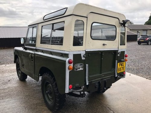 1967 Land Rover® Series 2a *Tax Exempt & MOT Exempt* (PWU) SOLD (picture 4 of 6)