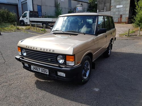 Range Rover 1992 200TDi Ex Land Rover Vehicle SOLD (picture 1 of 6)