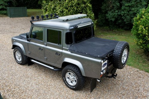 2007 Land Rover Defender 110 Pick Up Automatic For Sale