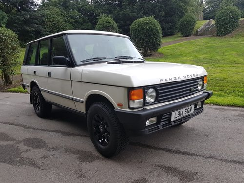 1994 RANGE ROVER CLASSIC 200 TDI – LEFT HAND DRIVE For Sale (picture 1 of 6)