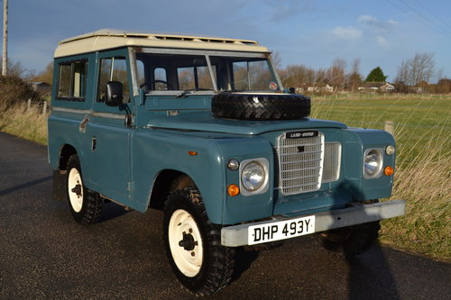 Land Rover Series 3 88 1983 Hardtop Ex Factory Petrol 83,000 SOLD (picture 1 of 6)