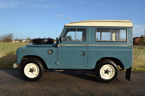 Land Rover Series 3 88 1983 Hardtop Ex Factory Petrol 83,000 SOLD (picture 2 of 6)