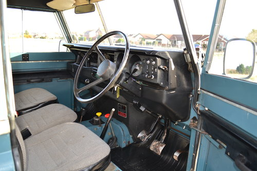Land Rover Series 3 88 1983 Hardtop Ex Factory Petrol 83,000 SOLD (picture 3 of 6)