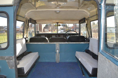 Land Rover Series 3 88 1983 Hardtop Ex Factory Petrol 83,000 SOLD (picture 4 of 6)