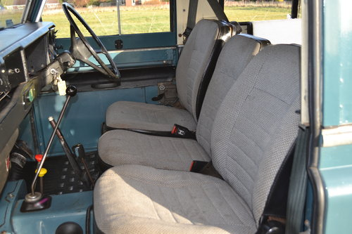 Land Rover Series 3 88 1983 Hardtop Ex Factory Petrol 83,000 SOLD (picture 6 of 6)