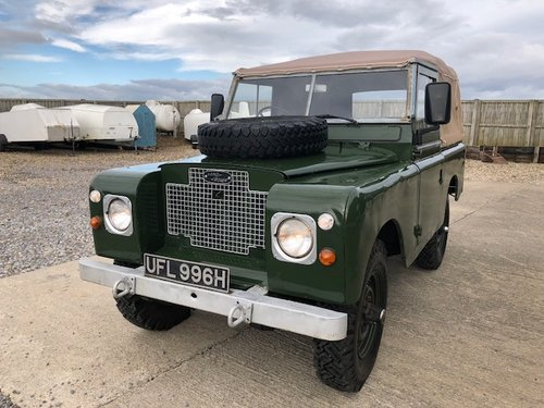 1971 Land Rover® Series 2a *MOT & Tax Exempt* (UFL) For Sale (picture 1 of 6)