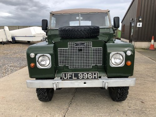1971 Land Rover® Series 2a *MOT & Tax Exempt* (UFL) For Sale (picture 6 of 6)