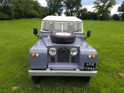 Land Rover series 2a 1962 overdrive For Sale (picture 4 of 6)