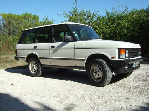 1992 Range Rover Classic Vogue SE 3.9 LHD For Sale (picture 1 of 6)