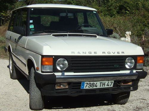 1992 Range Rover Classic Vogue SE 3.9 LHD For Sale (picture 2 of 6)