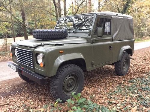 1991 Ex-Military Def 90 for sale in EXCELLENT CONDITION For Sale (picture 5 of 6)