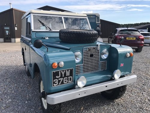 1966 Land Rover® Series 2a *Parabolic Springs* (JYW) SOLD (picture 1 of 6)