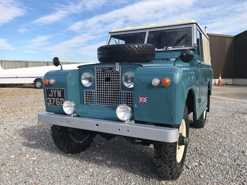 1966 Land Rover® Series 2a *Parabolic Springs* (JYW) SOLD (picture 2 of 6)
