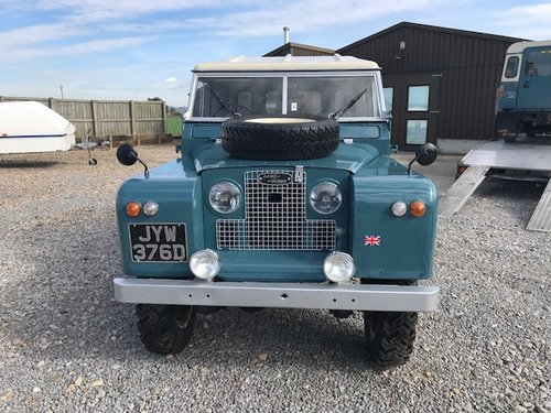 1966 Land Rover® Series 2a *Parabolic Springs* (JYW) SOLD (picture 3 of 6)