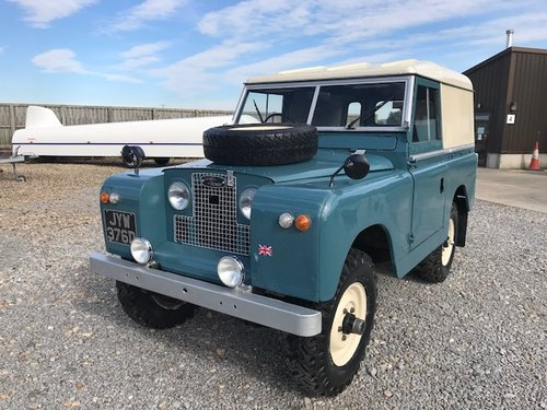 1966 Land Rover® Series 2a *Parabolic Springs* (JYW) SOLD (picture 6 of 6)