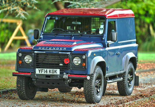 2014 Land Rover Defender 90 Hard Top SOLD (picture 1 of 6)