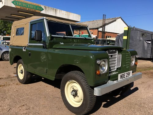 1982 Fully restored late model Series 3 galvanised chas For Sale (picture 1 of 6)