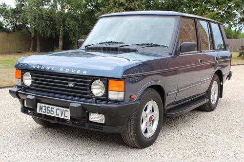 1994 Range Rover Vogue Se 3.9 V8 Efi Soft dash  For Sale (picture 1 of 6)