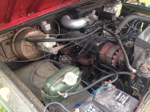 Range Rover 1972 Suffix A 3.5L V8 For Restoration For Sale (picture 5 of 6)