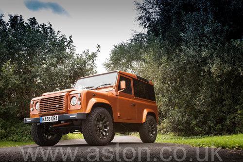 2006 Land Rover Defender 90 'Mastora Renovatio' SOLD (picture 2 of 6)