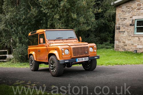 2006 Land Rover Defender 90 'Mastora Renovatio' SOLD (picture 3 of 6)