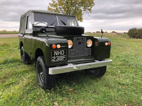 1968 Land Rover® Series 2a *MOT & Tax Exempt Ragtop* (NHO) SOLD (picture 1 of 6)