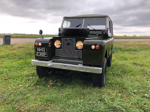 1968 Land Rover® Series 2a *MOT & Tax Exempt Ragtop* (NHO) SOLD (picture 2 of 6)