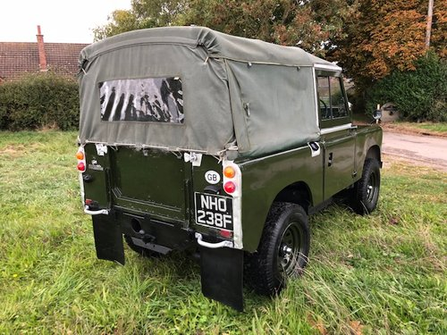 1968 Land Rover® Series 2a *MOT & Tax Exempt Ragtop* (NHO) For Sale (picture 4 of 6)