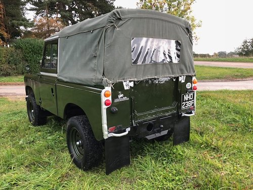 1968 Land Rover® Series 2a *MOT & Tax Exempt Ragtop* (NHO) SOLD (picture 5 of 6)