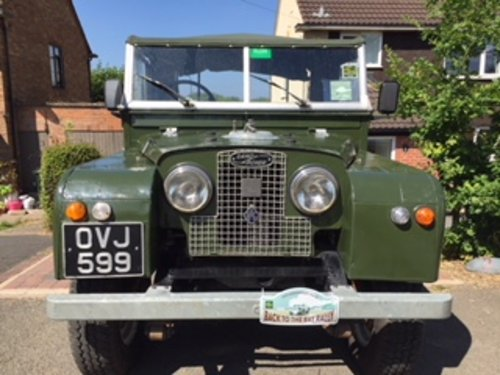 "Land Rover Series 1 (88"") 1957 original and solid. For Sale (picture 2 of 3)"