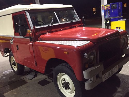 Land Rover 1966 2a swb, mint, REDUCED. For Sale (picture 1 of 6)