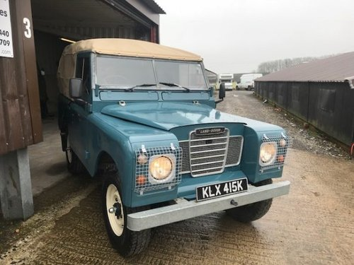 1971 Land Rover® Series 3 *Galvanised Chassis 200TDI* (KLX) SOLD (picture 1 of 6)