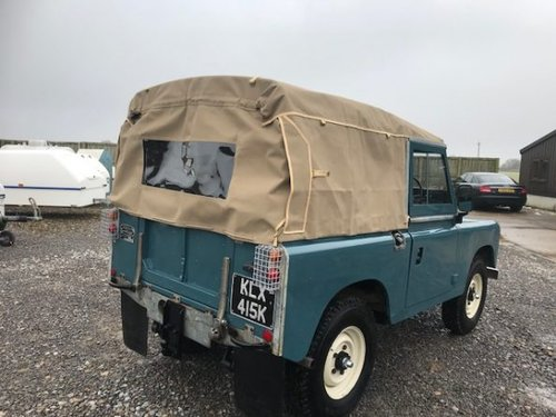 1971 Land Rover® Series 3 *Galvanised Chassis 200TDI* (KLX) SOLD (picture 3 of 6)