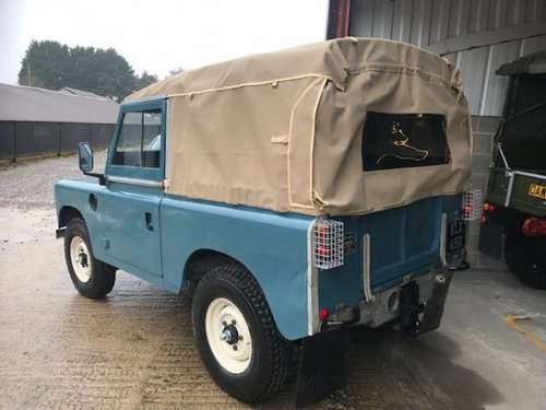 1971 Land Rover® Series 3 *Galvanised Chassis 200TDI* (KLX) SOLD (picture 4 of 6)