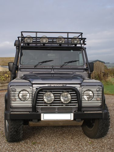 Stunning restored Land Rover Tomb Raider For Sale (picture 1 of 4)