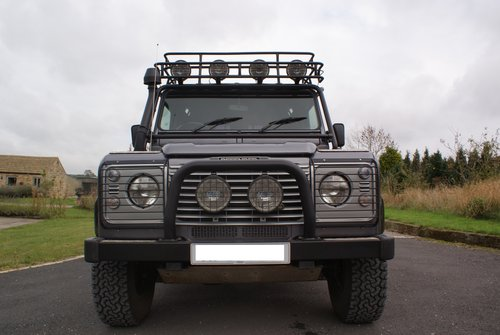 Stunning restored Land Rover Tomb Raider For Sale (picture 3 of 4)
