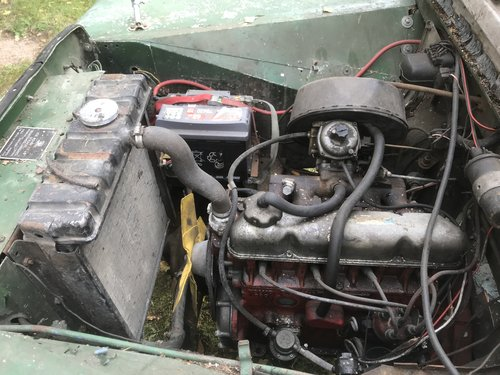 "1952 Land Rover 80"" Series 1 LHD For Sale (picture 6 of 6)"